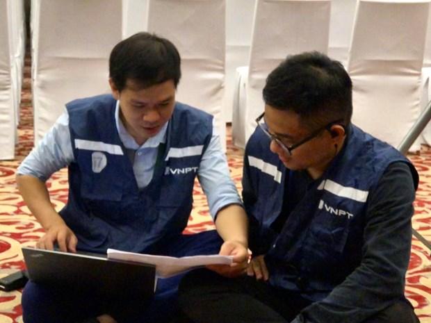 VNPT bao dam dich vu vien thong cong nghe cho Hanoi Innovation Summit hinh anh 1