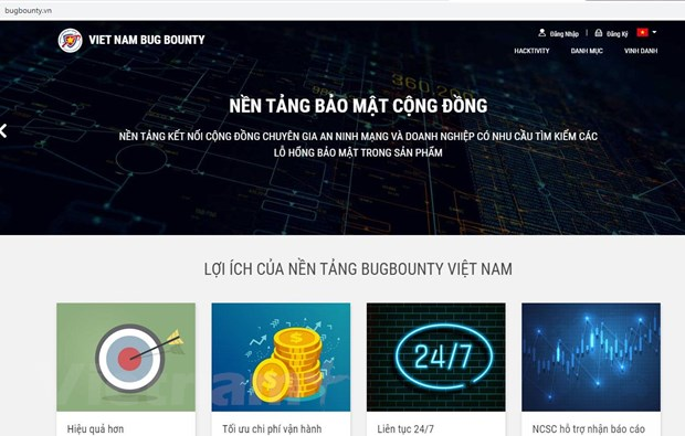 Cong bo nen tang ket noi cong dong hacker mu trang Viet Nam hinh anh 1