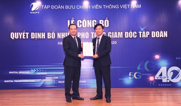 Tap doan VNPT chinh thuc them hai Pho Tong giam doc moi hinh anh 1