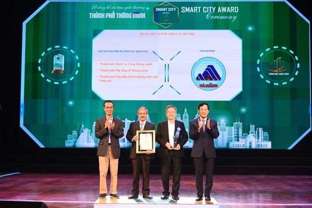 54 de cu xuat sac duoc vinh danh tai Giai thuong Smartcity 2020 hinh anh 1