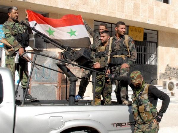 Quan doi Syria tai chiem thanh pho chien luoc Qara hinh anh 1