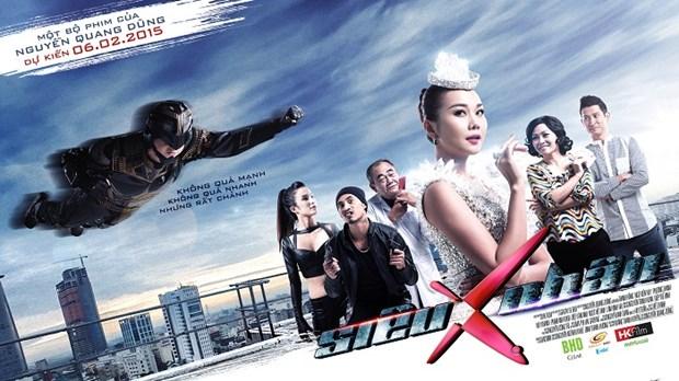 """""""Sieu nhan X"""" cua Nguyen Quang Dung mo man mua phim Tet hinh anh 1"""