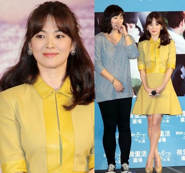 Bi quyet toa sang tren tham do cua nu dien vien Song Hye Kyo hinh anh 7