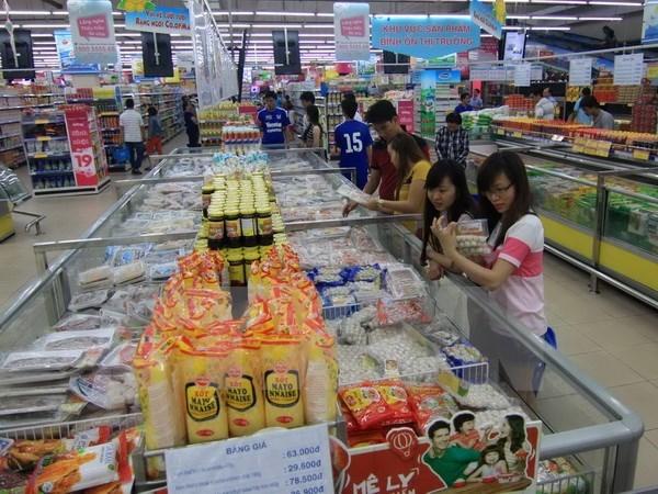 TP.HCM: Dong loat khoi dong Chuong trinh khuyen mai hang Viet dip 2/9 hinh anh 1