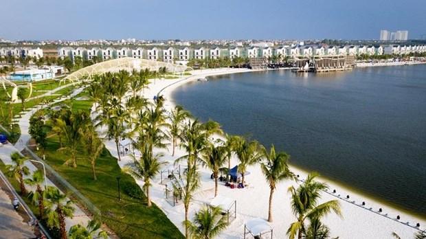 'Song ao khong goc chet ' o 'thanh pho bien ho Vinhomes Ocean Park' hinh anh 10