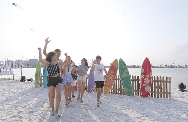 'Song ao khong goc chet ' o 'thanh pho bien ho Vinhomes Ocean Park' hinh anh 2