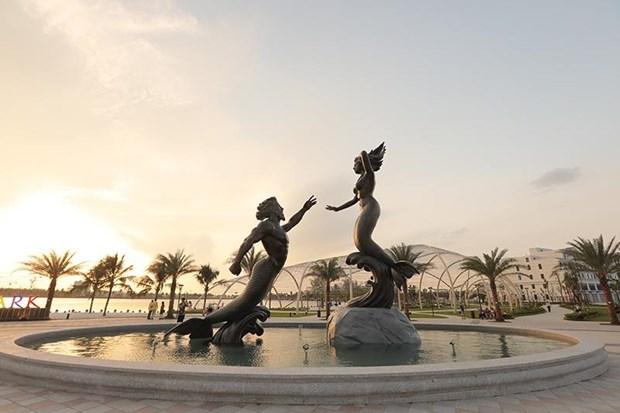 'Song ao khong goc chet ' o 'thanh pho bien ho Vinhomes Ocean Park' hinh anh 3