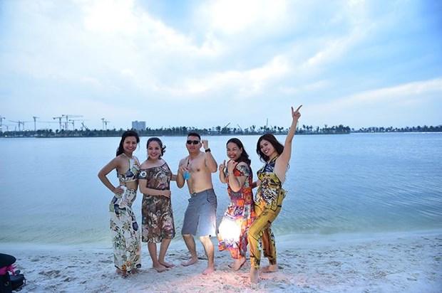 'Song ao khong goc chet ' o 'thanh pho bien ho Vinhomes Ocean Park' hinh anh 5