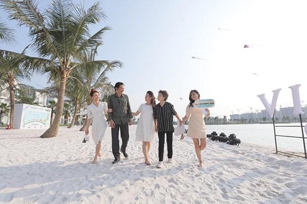 'Song ao khong goc chet ' o 'thanh pho bien ho Vinhomes Ocean Park' hinh anh 7