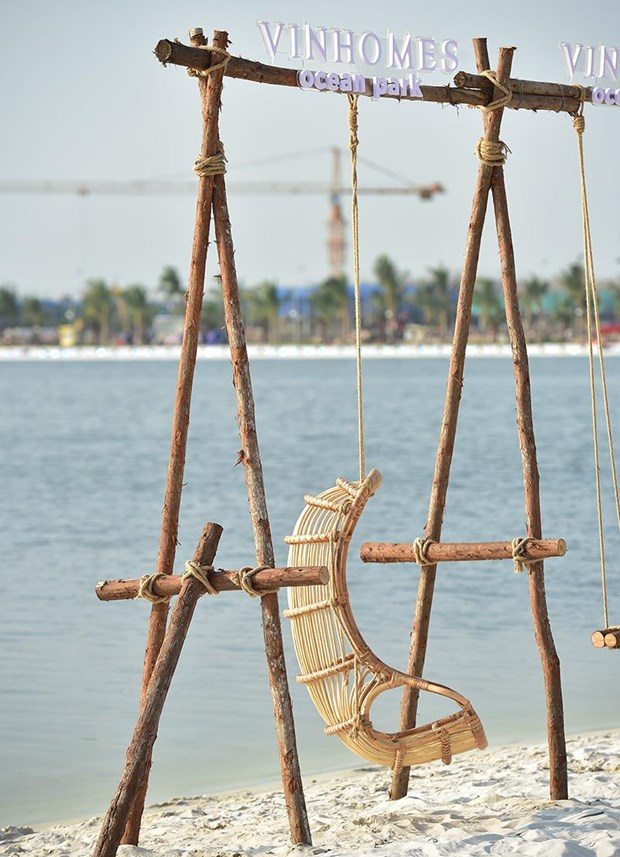'Song ao khong goc chet ' o 'thanh pho bien ho Vinhomes Ocean Park' hinh anh 8