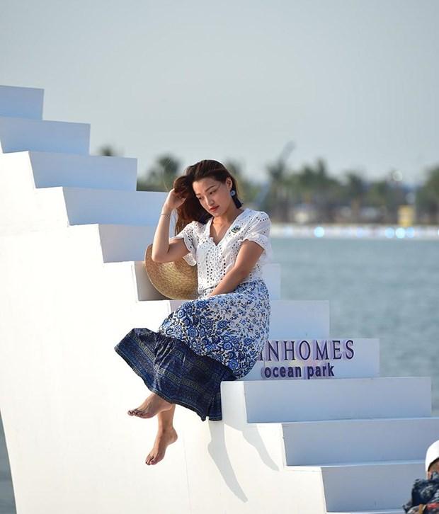 'Song ao khong goc chet ' o 'thanh pho bien ho Vinhomes Ocean Park' hinh anh 9