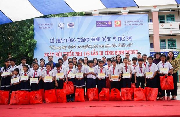 Tan Hiep Phat mang niem vui den hang tram tre em o Binh Duong hinh anh 2