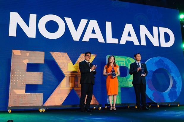 Khai mac trien lam Bat dong san an tuong - Novaland Expo 2019 hinh anh 3