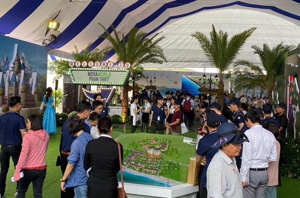 Khai mac trien lam Bat dong san an tuong - Novaland Expo 2019 hinh anh 5