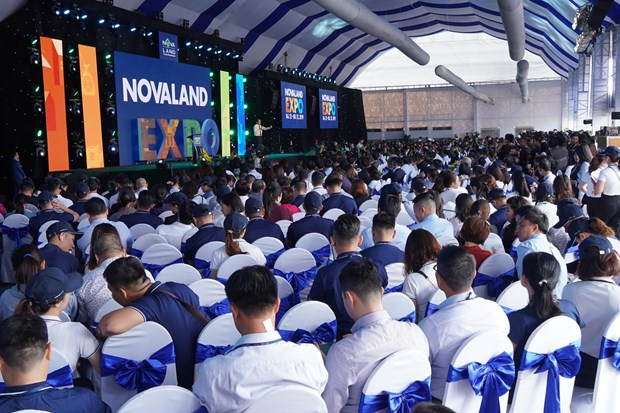 Khai mac trien lam Bat dong san an tuong - Novaland Expo 2019 hinh anh 1