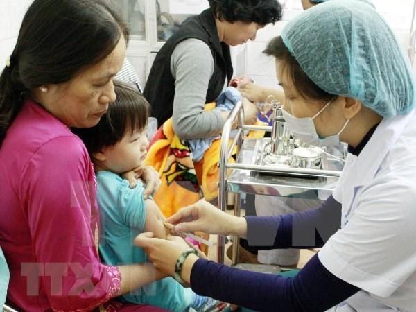 Thanh pho Ha Noi duoc phan bo 12.300 lieu vacxin Pentaxim hinh anh 1