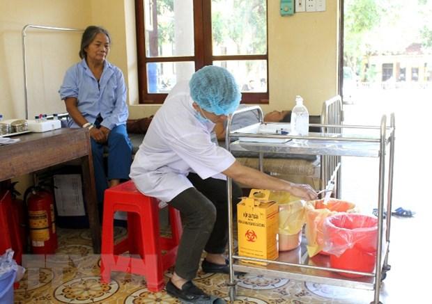 Nam Dinh: Trien khai co hieu qua viec quan ly chat thai y te hinh anh 1