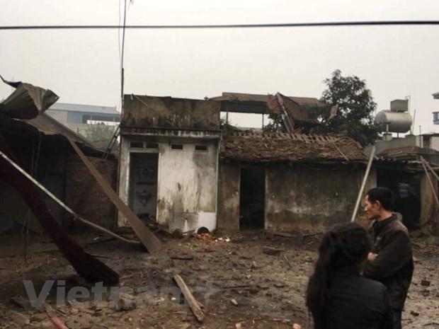 [Photo]: Hien truong vu no lam 9 nguoi thuong vong o Bac Ninh hinh anh 12