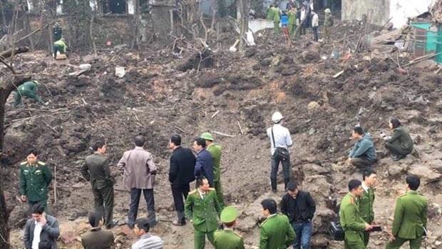 [Photo]: Hien truong vu no lam 9 nguoi thuong vong o Bac Ninh hinh anh 1