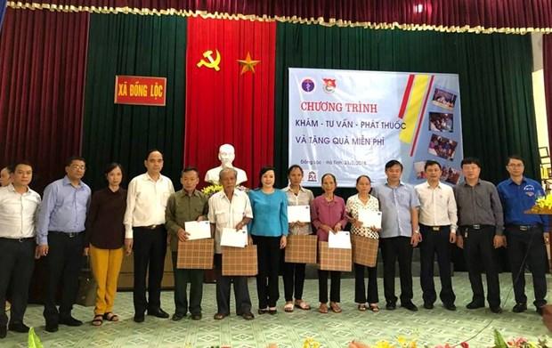 Kham chua benh mien phi cho 500 nguoi dan tai tinh Ha Tinh hinh anh 2