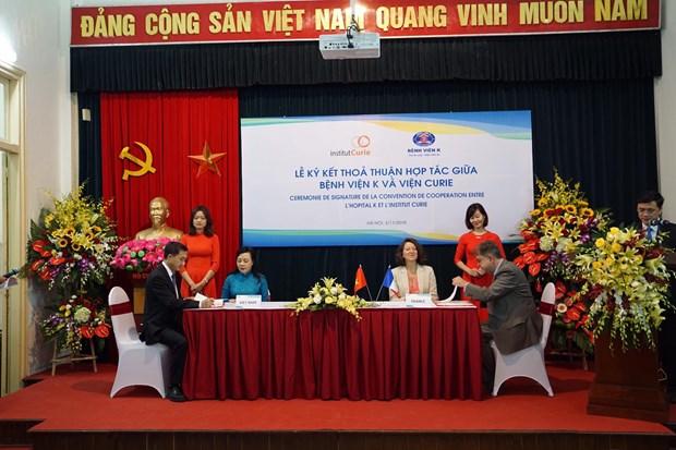 Phap ho tro Viet Nam dao tao chuyen mon trong linh vuc ung buou hinh anh 1