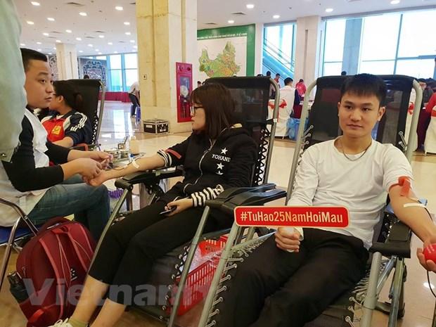 25 nam - Phong trao hien mau tinh nguyen phat trien an tuong hinh anh 1