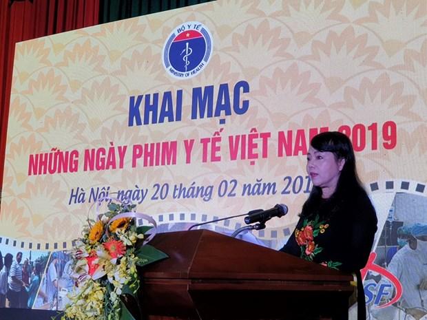 Nhieu hoat dong trong le khai mac nhung ngay phim y te Viet Nam 2019 hinh anh 1