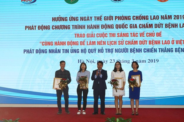 VietnamPlus doat giai Nhat cuoc thi sang tac ve cham dut benh lao hinh anh 4