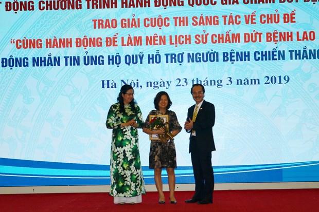 VietnamPlus doat giai Nhat cuoc thi sang tac ve cham dut benh lao hinh anh 1