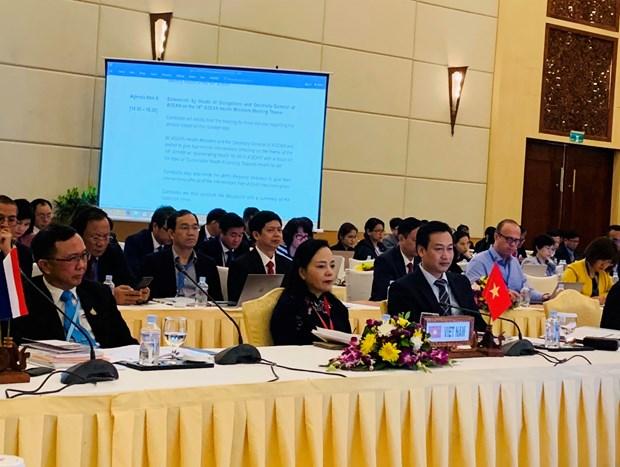 Bo truong Y te ASEAN ban cac giai phap chong lai thuoc gia hinh anh 1