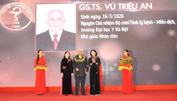 Ton vinh 118 tri thuc tieu bieu cua Tong hoi Y hoc Viet Nam hinh anh 1