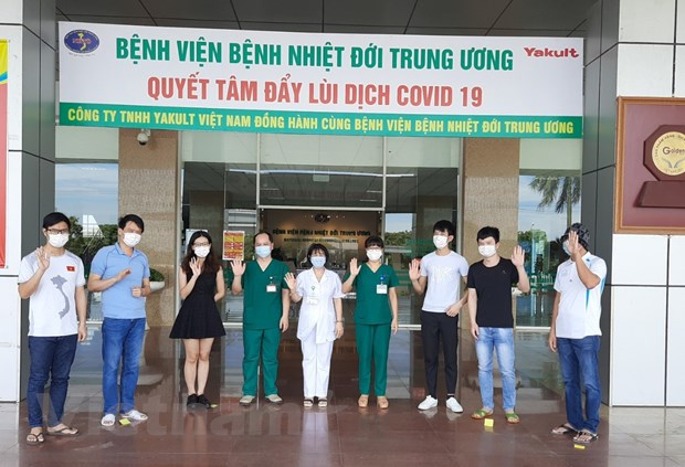 Them 6 ca khoi benh, Viet Nam chua thanh cong cho 95% ca mac COVID-19 hinh anh 1