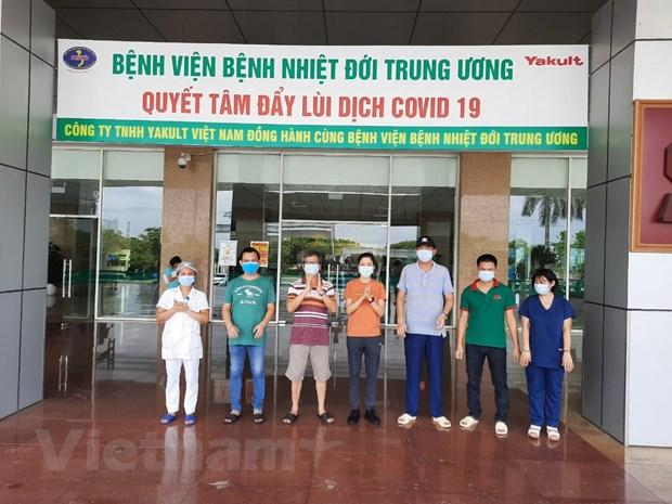 Them 5 truong hop mac COVID-19 duoc cong bo khoi benh hinh anh 1