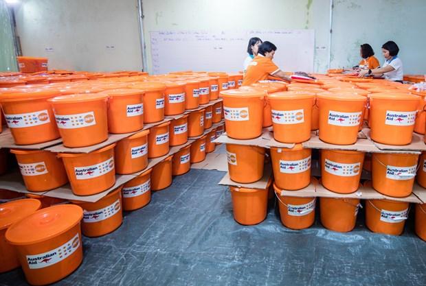 UNFPA cung ung 3.700 bo do cho phu nu Viet co nguy co bi bao luc hinh anh 1