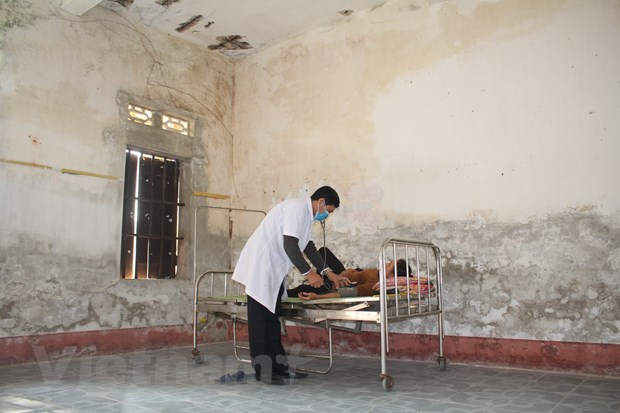 2 trạm y tế xã xuống cấp nghiêm trọng
