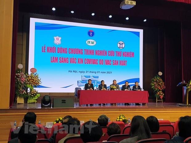 Khoi dong thu nghiem loai vacxin phong COVID thu 2 cua Viet Nam hinh anh 2