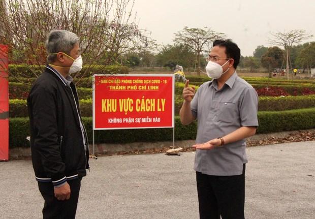 Bo Y te 'sat canh' giup Hai Duong vuot lan song COVID-19 hinh anh 1