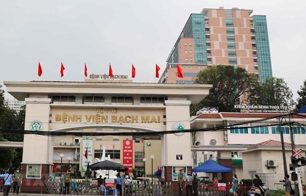 Bệnh viện Bạch Mai. (Ảnh: Thanh Tùng/TTXVN)