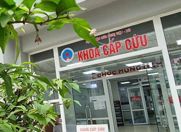 Khoa Cap cuu Benh vien Huu Nghi hoat dong tro lai binh thuong hinh anh 1