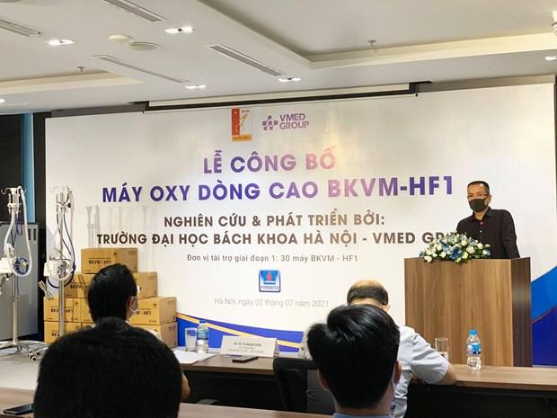 Viet Nam che tao thanh cong may oxy dong cao de phong, chong COVID-19 hinh anh 3