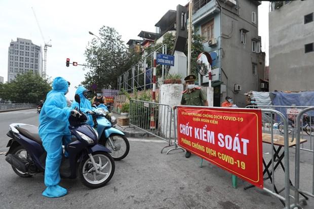 Ha Noi ghi nhan them 18 truong hop duong tinh voi SARS-CoV-2 hinh anh 1