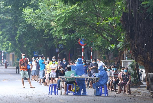 Sang 7/10: Thanh pho Ha Noi ghi nhan 2 ca mac COVID-19 da duoc cach ly hinh anh 1