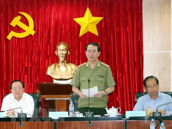 Bo truong Tran Dai Quang: Khong dung tung doi tuong gay roi hinh anh 1