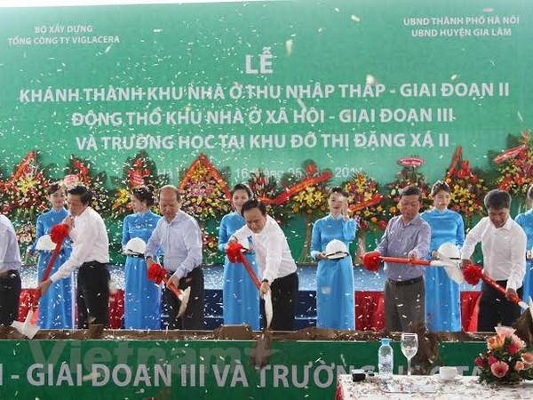Dong tho xay dung them 1.500 can nha o xa hoi tai Ha Noi hinh anh 1