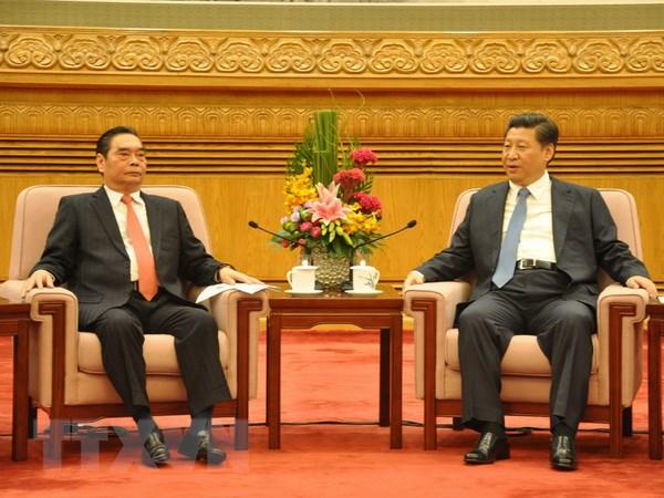 Ong Le Hong Anh hoi kien Chu tich Trung Quoc Tap Can Binh hinh anh 1