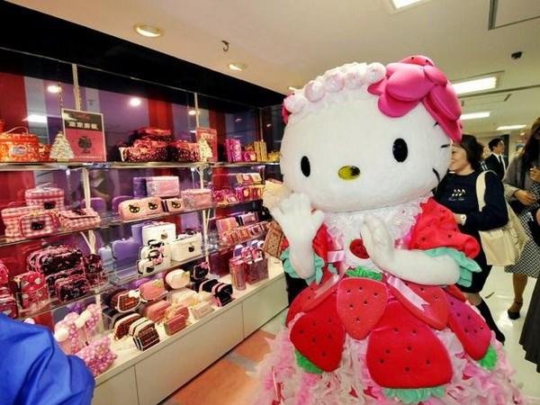 Co meo noi tieng Hello Kitty that ra khong phai la... meo hinh anh 1