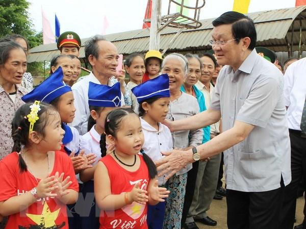 Chu tich nuoc: Quang Tri can don suc cho nhung du an trong diem hinh anh 1