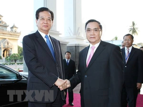 Viet Nam-Lao nhat tri tiep tuc phoi hop trien khai du an chien luoc hinh anh 1