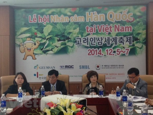 Han Quoc to chuc le hoi nhan sam lan thu ba tai Viet Nam hinh anh 1