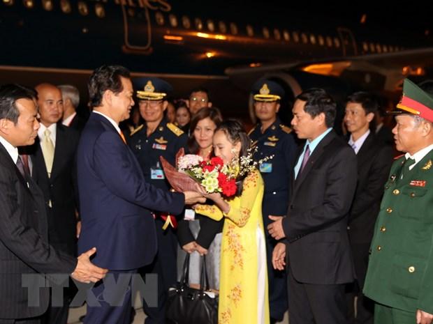 Thu tuong Viet Nam-Thai Lan quyet tam tang hop tac kinh te hinh anh 1